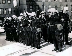 """Militarized"" Riot Training, Circa 1968"
