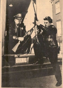 Police With A Rifle, Circa 1960